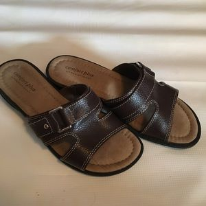 Comfort by predictions Brown Sandals Women Size 6W